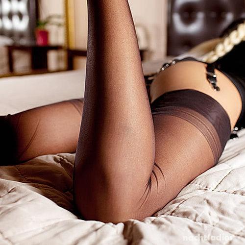 bandage sex braune nylons